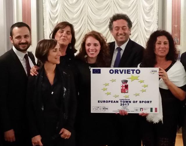 Orvieto è città europea dello sport 2017