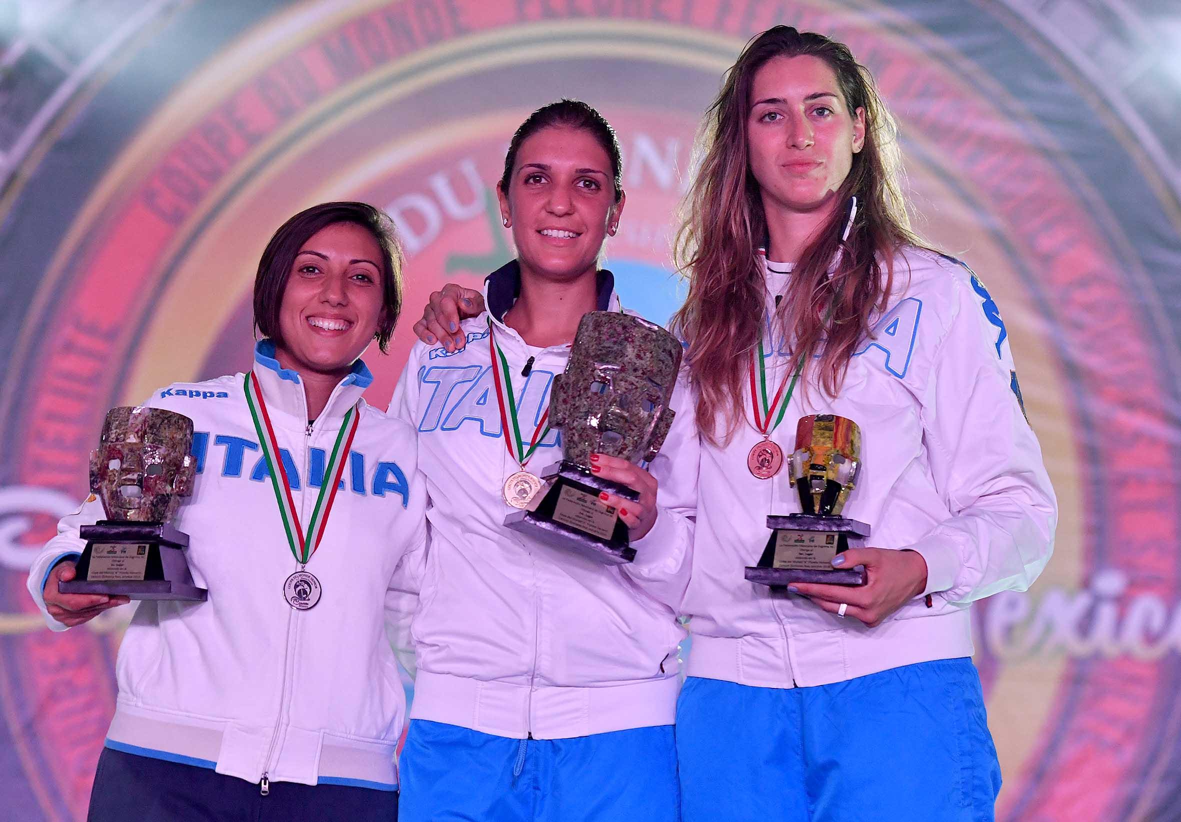 Scherma: le azzurre del fioretto oro in Coppa del Mondo a Cancun