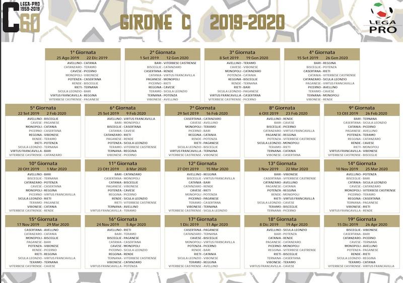 Calendario Lega Pro Girone B Anticipi E Posticipi.Le Date Della Stagione Di Lega Pro Ternana Mai Al Lunedi